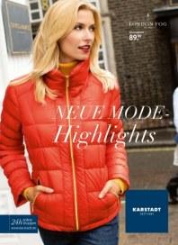 KARSTADT 02.10.2013 Neue Mode Highlights - 02.10 Oktober 2013 KW40