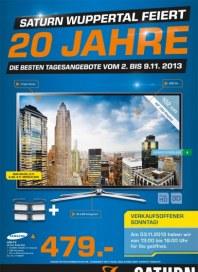 Saturn 20 Jahre in Wuppertal November 2013 KW44