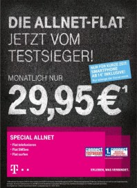 Telekom Shop Die Allnet-Flat jetzt vom Testsieger November 2013 KW45
