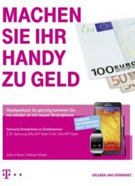 Telekom Shop Machen Sie Ihr Handy zu Geld November 2013 KW45