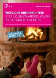 Telekom Shop Fröhliche Dreinachten Dezember 2013 KW49