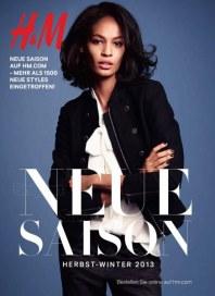 H&M Neue Saison September 2013 KW35