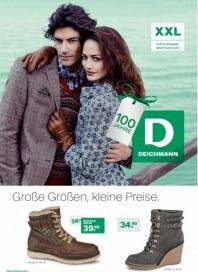 Deichmann Große Größen, kleine Preise Dezember 2013 KW50
