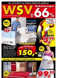 Dänisches Bettenlager WSV Dezember 2013 KW50
