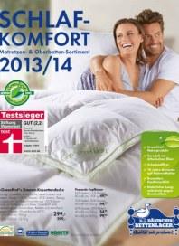 Dänisches Bettenlager Schlafkomfort Dezember 2013 KW50