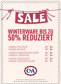 C&A Sale Dezember 2013 KW51