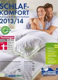 Dänisches Bettenlager Schlafkomfort-Katalog Dezember 2013 KW48