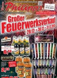 Thomas Philipps Großer Feuerwerksverkauf Dezember 2013 KW52