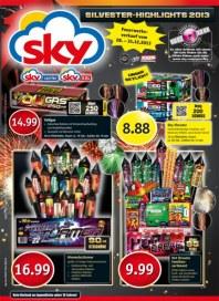 SKY-Verbrauchermarkt Silvester-Highlights 2013 Dezember 2013 KW01
