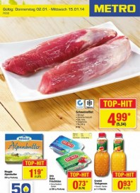Metro Cash & Carry Food Januar 2014 KW01