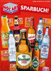Hol ab Getränkemarkt Sparbuch Januar 2014 KW01