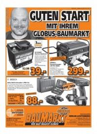 Globus Baumarkt Haupflyer Januar 2014 KW02