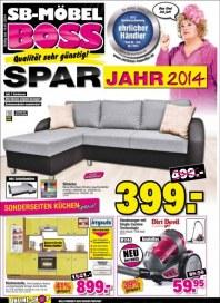 SB Möbel Boss Aktuelle Angebote Januar 2014 KW02
