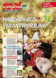 real,- Sonderbeilage - Handeln aus Verantwortung (Herbst 2013) Januar 2014 KW02