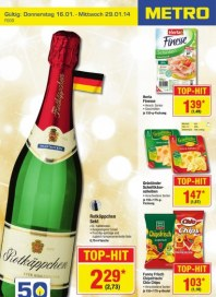 Metro Cash & Carry Food Januar 2014 KW03 1