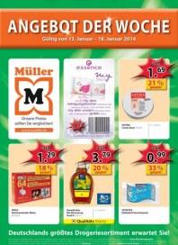 Müller Drogerie Angebot der Woche Januar 2014 KW03