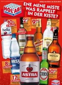 Hol ab Getränkemarkt Ene mene Miste - Was rappelt in der Kiste Januar 2014 KW04 2