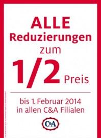 C&A Sales Januar 2014 KW04
