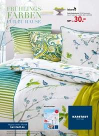 KARSTADT Living - Frühlings-Farben für zu Hause Februar 2014 KW06