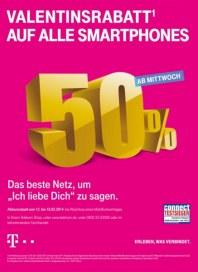 Telekom Shop Valentinsrabatt auf alle Smartphones Februar 2014 KW06