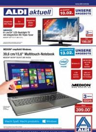 Aldi Nord Aldi Multimedia - Angebote ab Montag, 10.02. und ab Donnerstag, 13.02 Februar 2014 KW07
