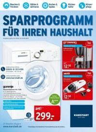 KARSTADT Elektro - Sparprogramm für ihren Haushalt Februar 2014 KW08