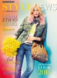 KARSTADT Style News Nr. 6 Frühling 2014 Februar 2014 KW09