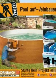 Hornbach Pool auf-/einbauen März 2014 KW10