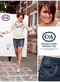 C&A-Naturally Denim, Naturally You.