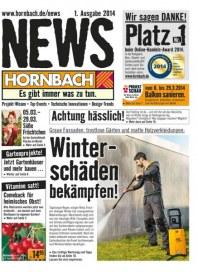 Hornbach Hornbach News März 2014 KW10