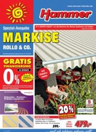 Hammer Spezial Ausgabe - Markisen März 2014 KW12