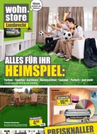 Wilhelm Lambrecht Alles für Ihr Heimspiel April 2014 KW18