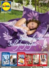 Lidl Sommerleichtes Schlafvergnügen Mai 2014 KW20
