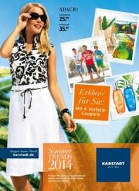 KARSTADT Sommer Trends 2014 Mai 2014 KW20