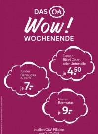 C&A Das WOW! Wochenende Mai 2014 KW20