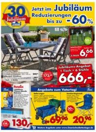 Dänisches Bettenlager Schnäppchenfest für Ihren Garten Mai 2014 KW21