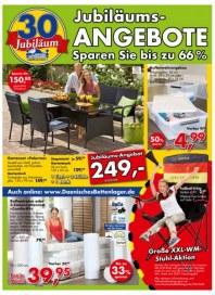Dänisches Bettenlager Jubiläumsangebote Mai 2014 KW22