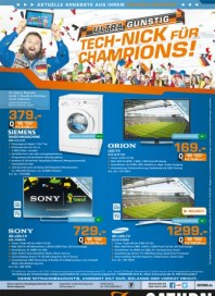 Saturn TECH-NICK für Champions...Aktuelle Angebote Juni 2014 KW23 1