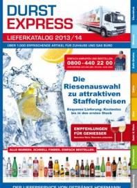 Getränke Hoffmann DurstExpress - Der Lieferservice von Getränke Hoffmann Juni 2014 KW23