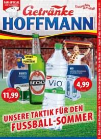 Getränke Hoffmann Unsere Taktik für den Fußball-Sommer Juni 2014 KW24