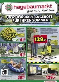 hagebaumarkt Unschlagbare Angebote für Ihren Sommer Juli 2014 KW28