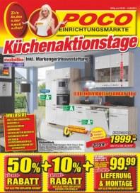 POCO Küchenaktionstage August 2014 KW31