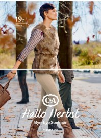 C&A Hallo Herbst! - Bye bye Sommer August 2014 KW35