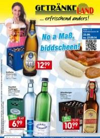 Getränkeland No a Maß, biddscheen September 2014 KW39