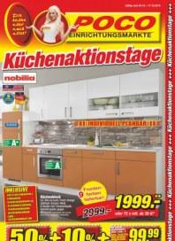 POCO Küchenaktionstage Oktober 2014 KW40