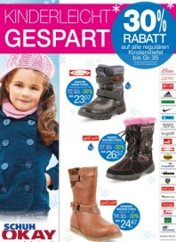 Schuh Okay Kinderleicht gespart Dezember 2014 KW49