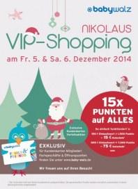 Baby Walz VIP-Shopping Dezember 2014 KW49