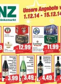 Benz Getränkemarkt Aktuelle Angebote Dezember 2014 KW51 1