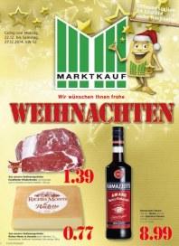 Marktkauf Wir wünschen Ihnen frohe Weihnachten Dezember 2014 KW52