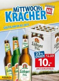 Getränkeland Mittwochskracher...Angebot Februar 2015 KW06